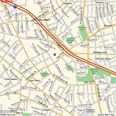Falls Church Virginia Map.Fcvfd Directions To The Fcvfd